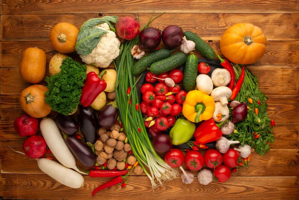 Gemüse gegen Bauchfett
