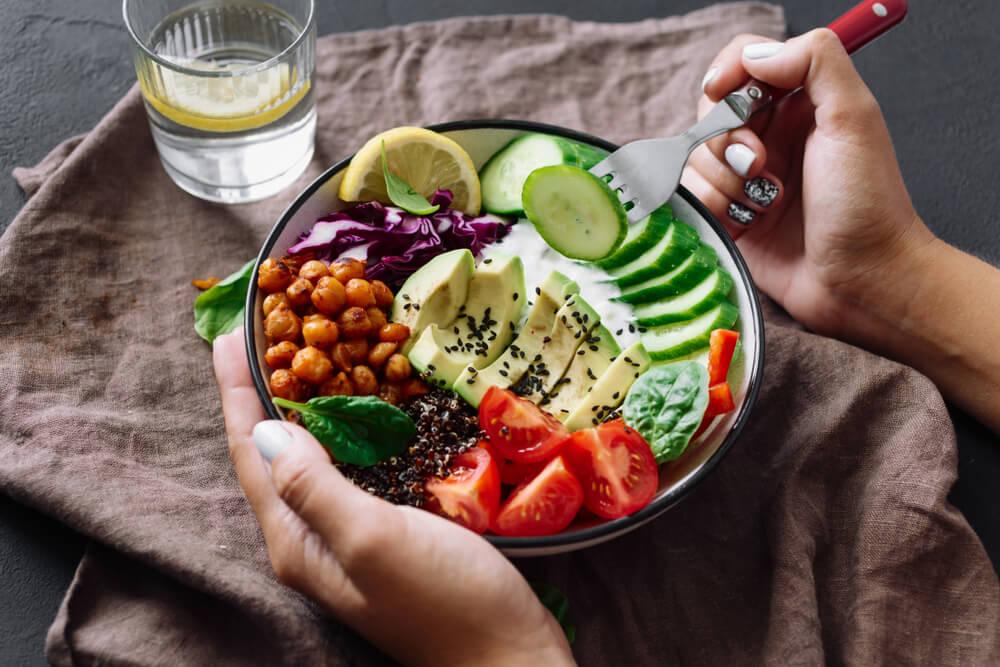 Gesunde, fettverbrennende Lebensmittel
