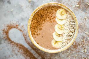 Ricotta mit Kakao
