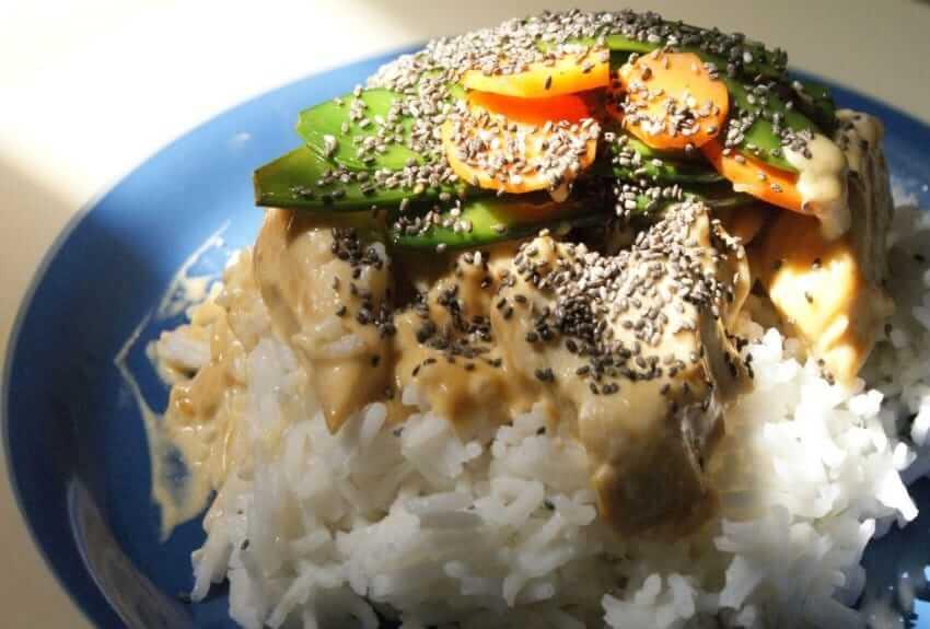 Chia Curry-Hühnchen