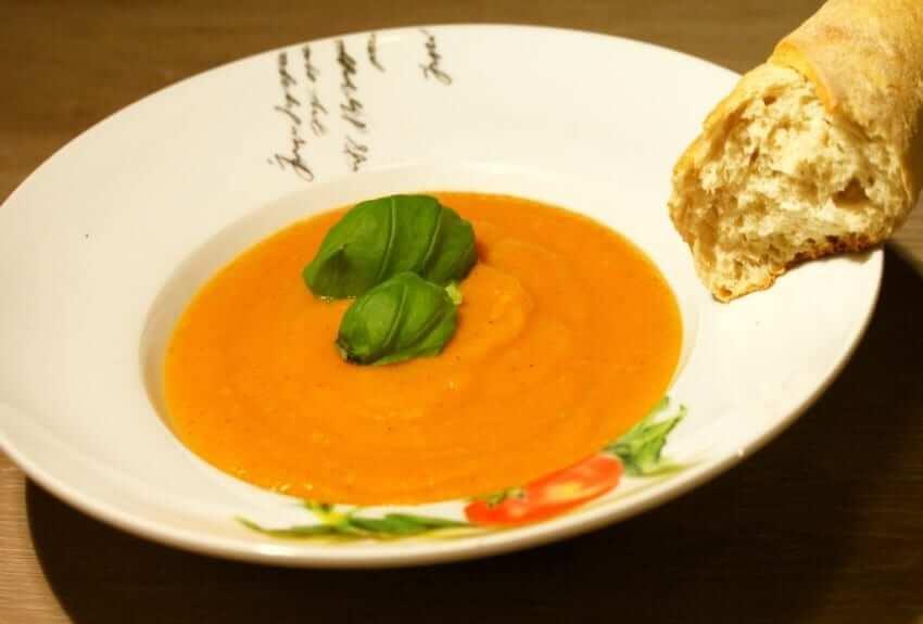 Chia Möhren Kartoffel Suppe