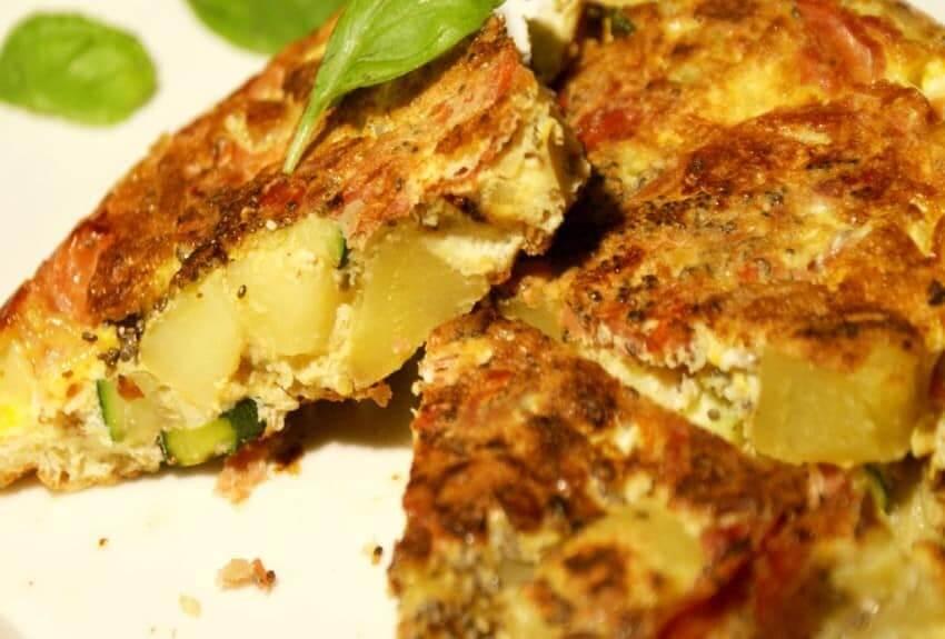 Kartoffel-Zucchini Chia-Tortillas